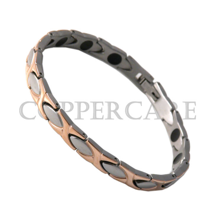 Ladies Titanium - Rose Gold plating